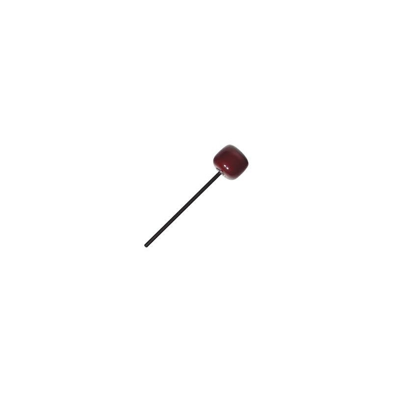 BASS DRUM BEATER RED WOOD