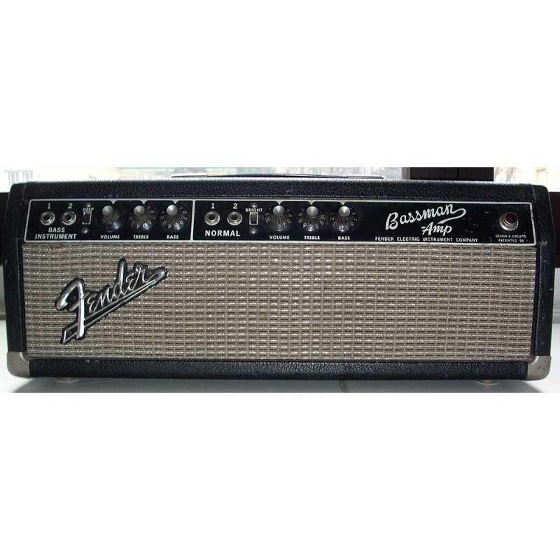Fender - Bassman - Black Face | Boite à Musique rental