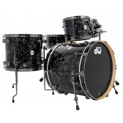 DW - Collector's Series - Black Velvet - kick 24""
