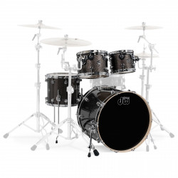 DW - Performance Series - Pewter Sparkle - Kick 24""