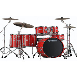 Yamaha - Recording Custom - Hot Red - Kick 22""