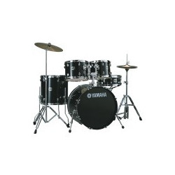Yamaha - Recording Custom - Jet Black - Kick 18""