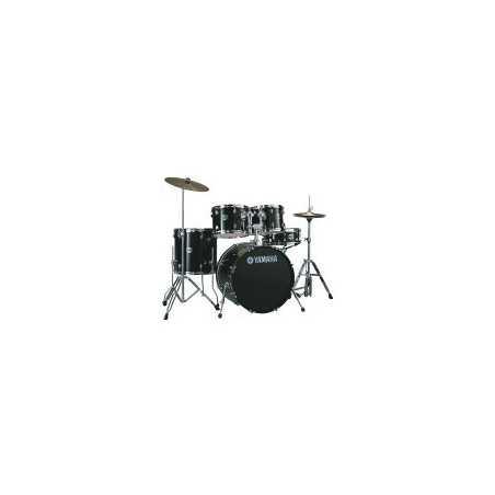"Yamaha - Recording Custom - Jet Black - Kick 22"" - 2 | Boite à Musique rental"