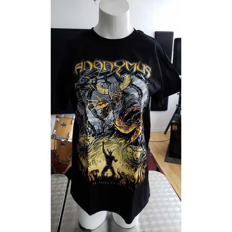 T-shirt Xlarge - Anonymus - je suis la bete