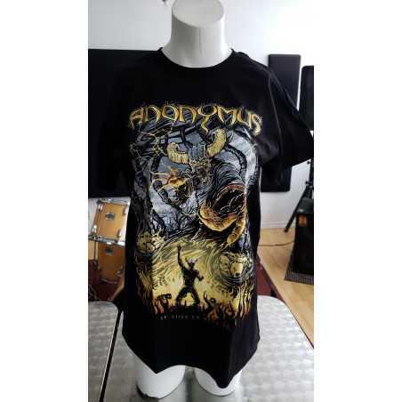 T-shirt- Anonymus - je suis la bete