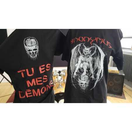 T-shirt - Anonymus - tu es mes demons