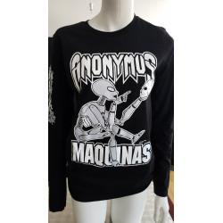 Chandails XXL manche longue - Anonymus - Maquinas