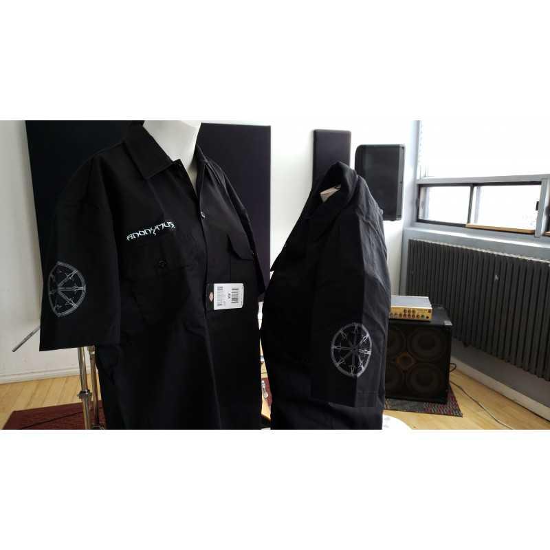 Chemise noir dickies - XLarge- Anonymus