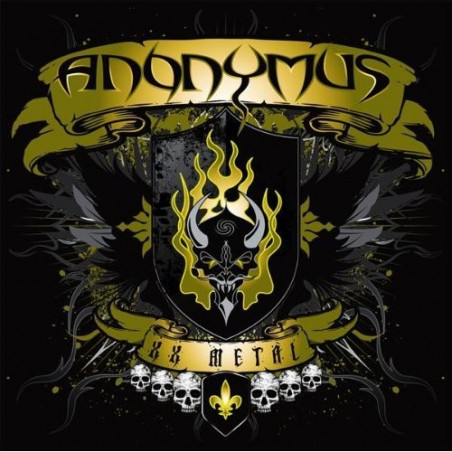 Anonymus - XX Metal - CD/DVD
