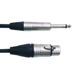 Digiflex 3ft adapter xlr to 1/4 cable  (NXFP-3)