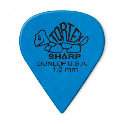 DUNLOP 412R-100 BLUE 1.00MM TORTEX® SHARP GUITAR PICK