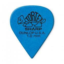 DUNLOP 412R-100 BLUE 1.00MM TORTEX® SHARP GUITAR PICK