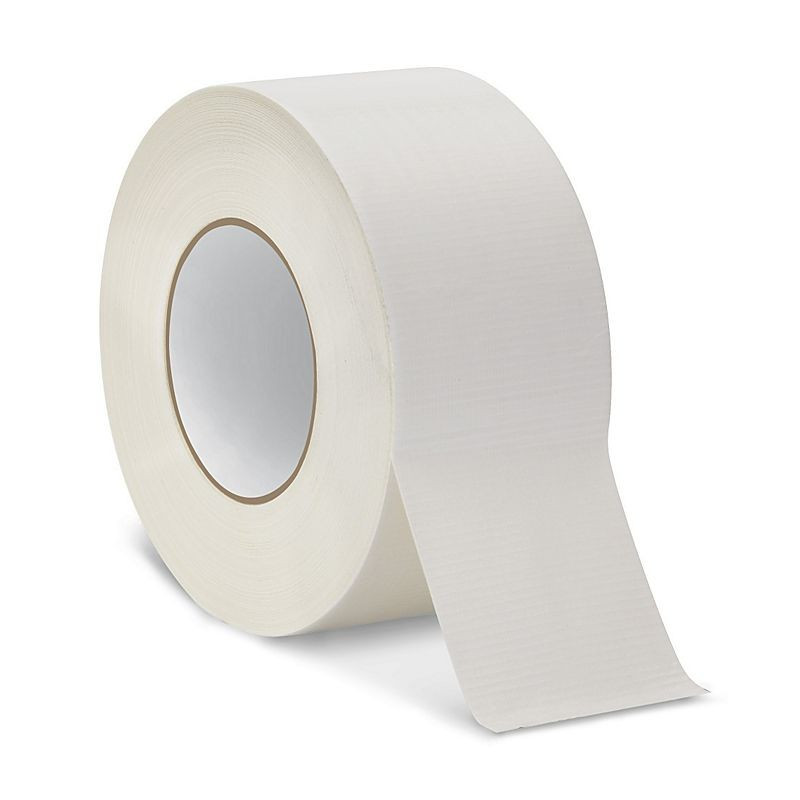White gaffer tape 48mm x 55mm