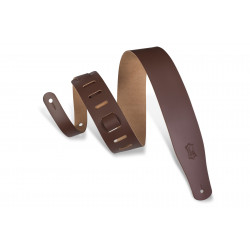 Levy's Genuine Leather guitar strap Brown