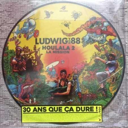 """Ludwig Von 88 - Houlala 2 """"La Mission"""" - LP Vinyle [Picture Disc]"""