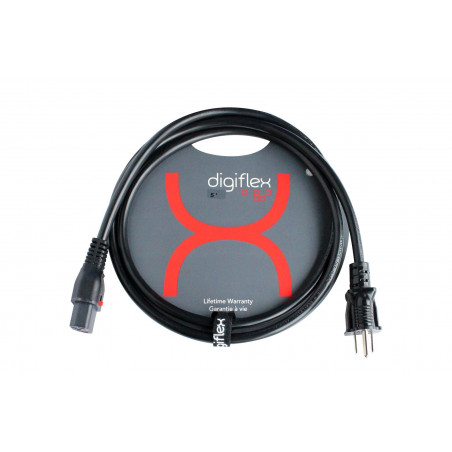 Digiflex - 5 Foot Molded 16/3 U ground to IEC Cable