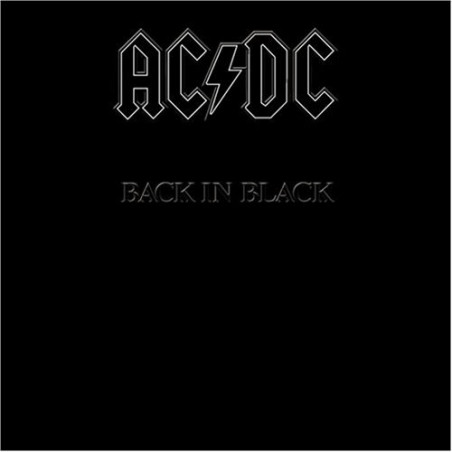 AC/DC - Back in Black - LP Vinyle