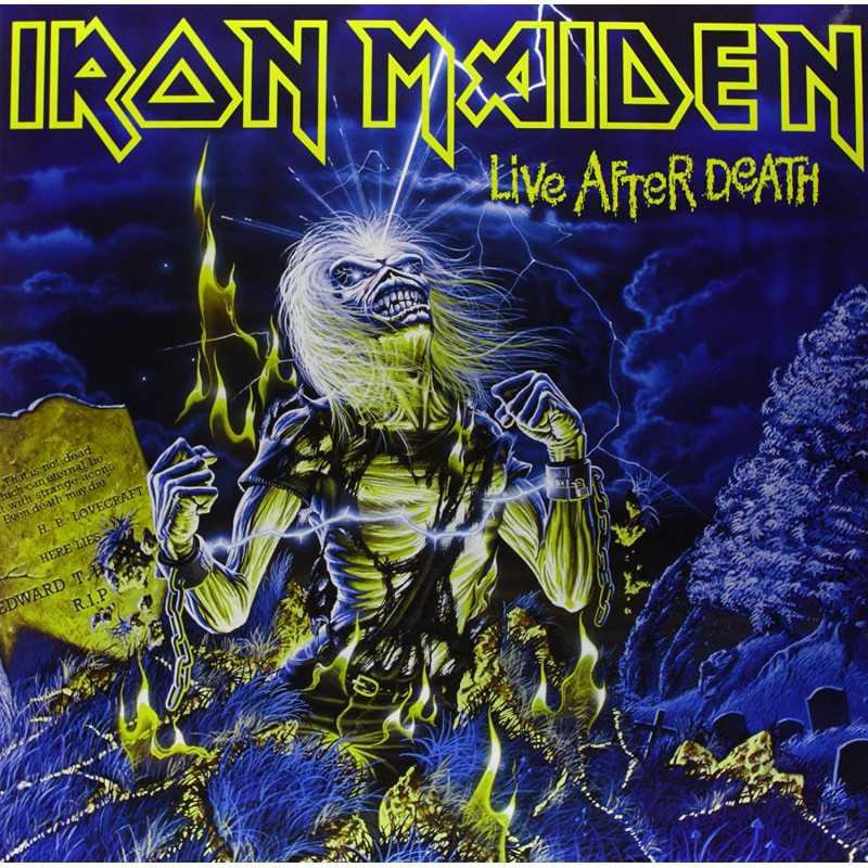 Iron Maiden - Live After Death - Double LP Vinyle