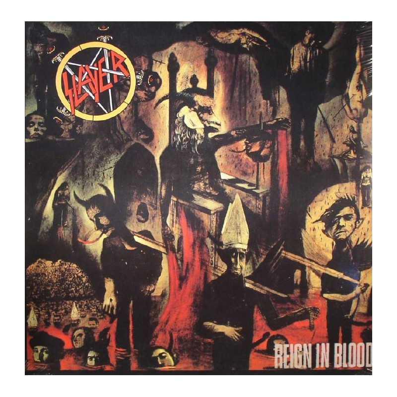 Slayer - Reign in Blood - LP Vinyl