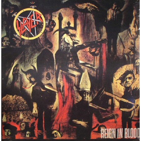 Slayer - Reign in Blood - LP Vinyle