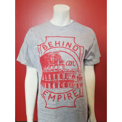 Behind an Empire - T-Shirt - Coliseum Grey
