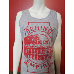Behind an Empire - Tank Top - Coliseum Grey