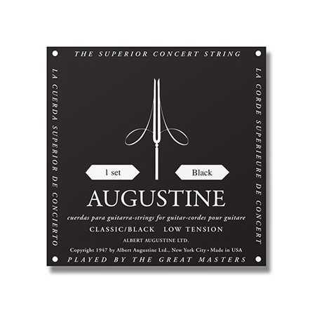 Augustine - Classique Noir - Basse Tension E / 1ere Corde