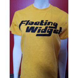 Floating Widget - T-Shirt - Yellow