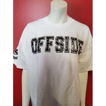 Offside - T-Shirt - Blanc