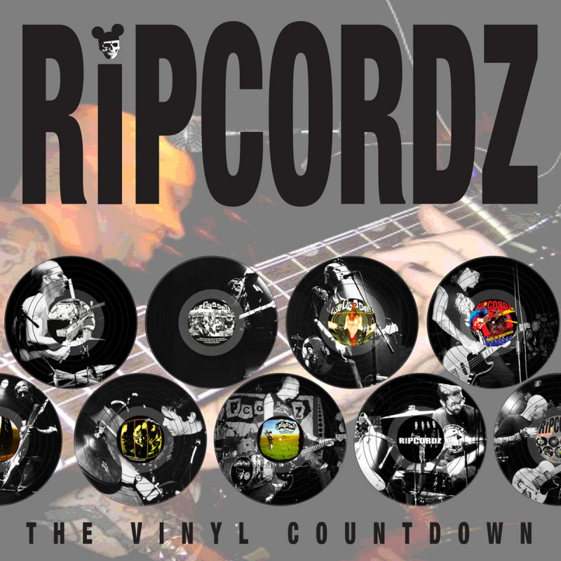 Ripcordz - The Vinyl Countdown - Double LP Vinyle