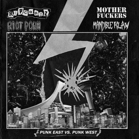 Punk East vs. Punk West - LP Vinyle