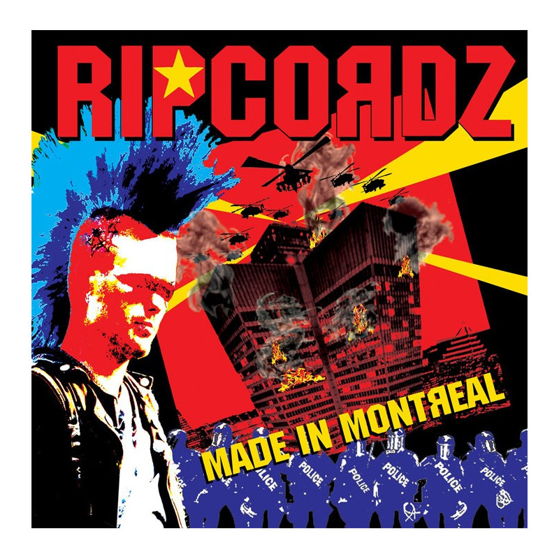 Ripcordz - Made in Montreal - CD
