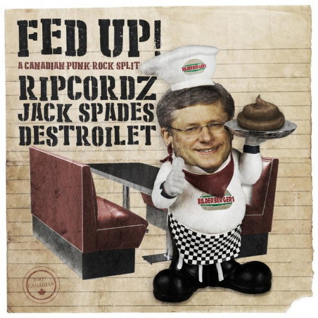 Fed Up! A Canadian Punk Rock Split - CD