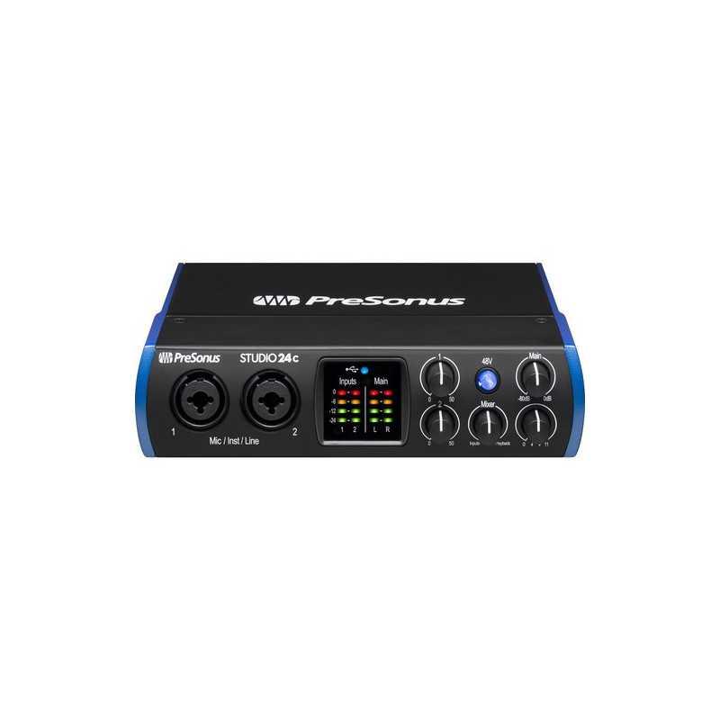Presonus 2x2 Usb Typec- Audio / Interface Midi