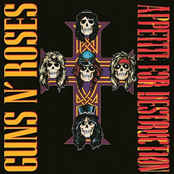 Guns N' Roses - Appetite for Destruction - LP Vinyle