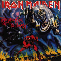 Iron Maiden - The Number of the Beast - LP Vinyle