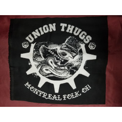 Union Thugs - Backpatch - Tissus