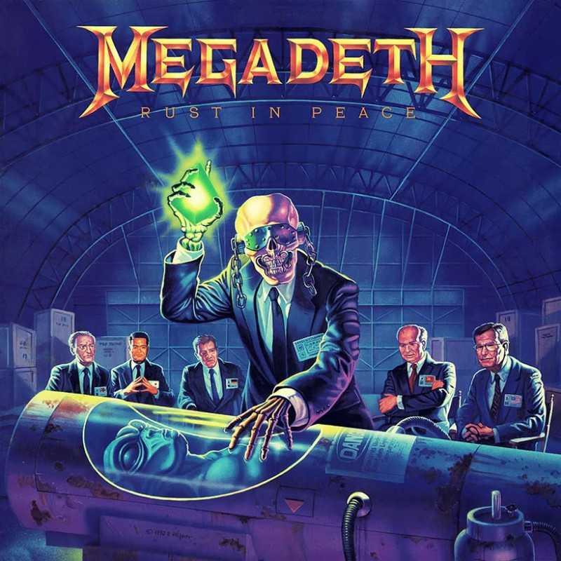 Megadeth - Rust in Peace - LP Vinyl