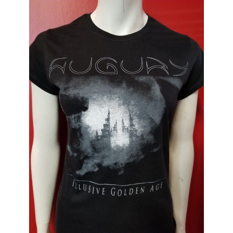 Augury - T-Shirt - Illusive Golden Age - Black and Grey