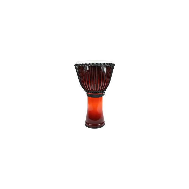 Toca Djembe Freestyle II Rope Tubed African Sunset 12''