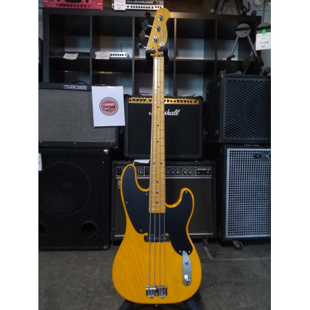 Fender Telecaster Precision Bass - Butterscotch avec flying case