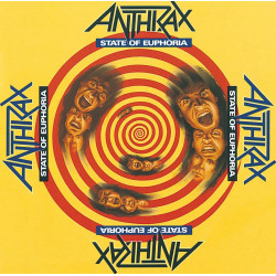 Anthrax - State of Euphoria - Double LP Vinyl
