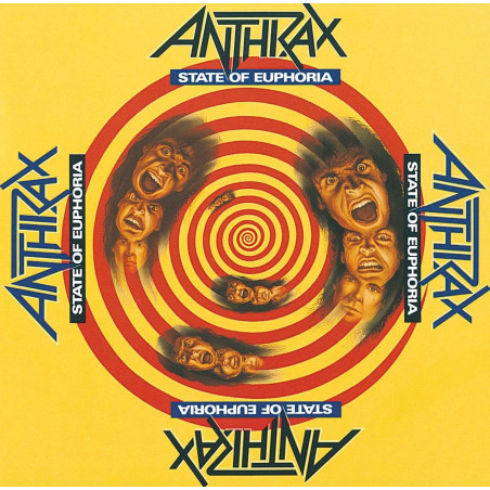 Anthrax - State of Euphoria - Double LP Vinyle