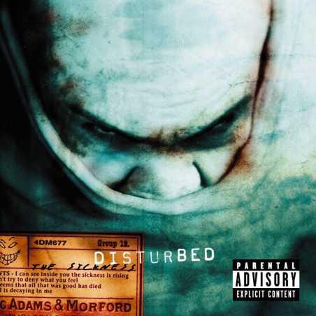 Disturbed - The Sickness - LP Vinyle
