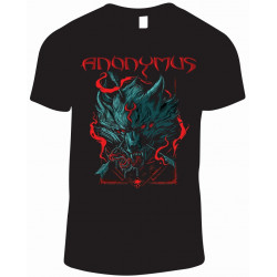 Pack Satanique - Anonymus La Bestia Deluxe + T-Shirt Bicho Loco + T-Shirt Wolf