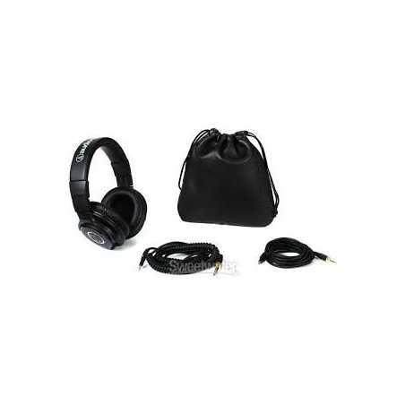 Audio-Technica Écouteurs à isolation sonore sur l'oreille - noir