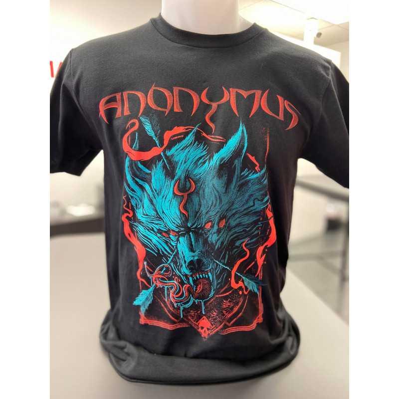 Anonymus - T-Shirt - Wolf