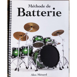 Méthode de Batterie - Alex Ménard