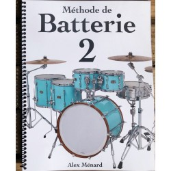 Méthode de Batterie 2 - Alex Ménard