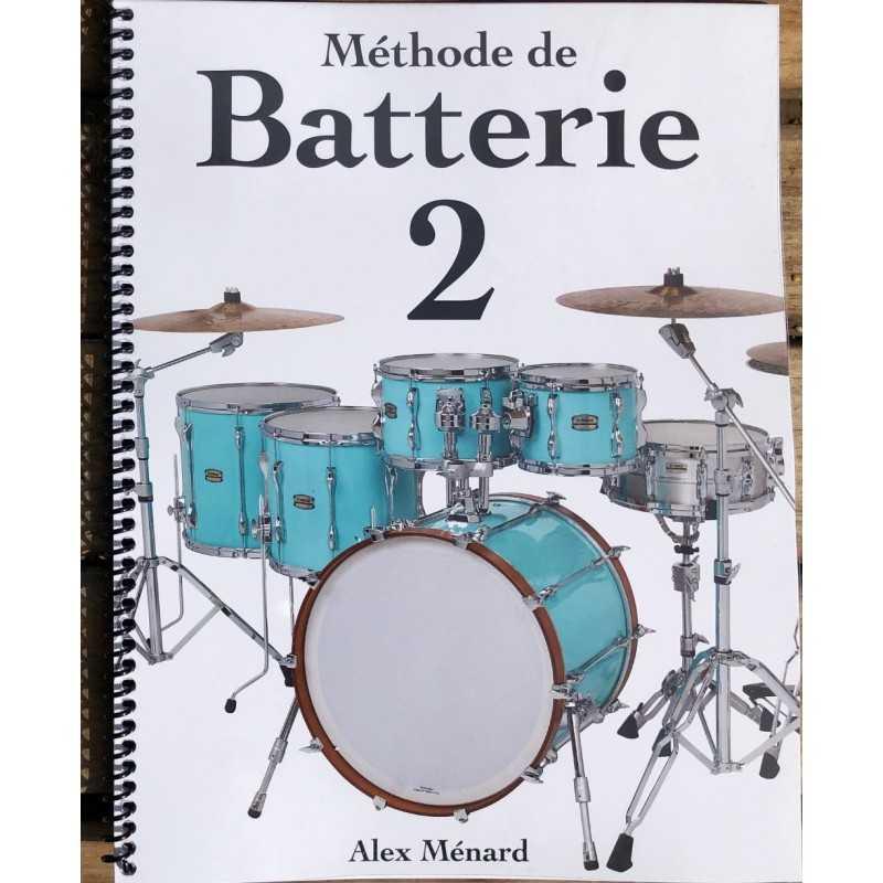 Méthode de Batterie 2 - Alex Ménard